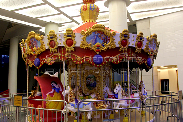hot sale carnival rides in merry go round is available in Dinis factory