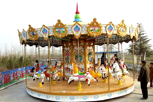 kids merry go round carousel for outdoor