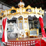 Outdoor Santa Carousel