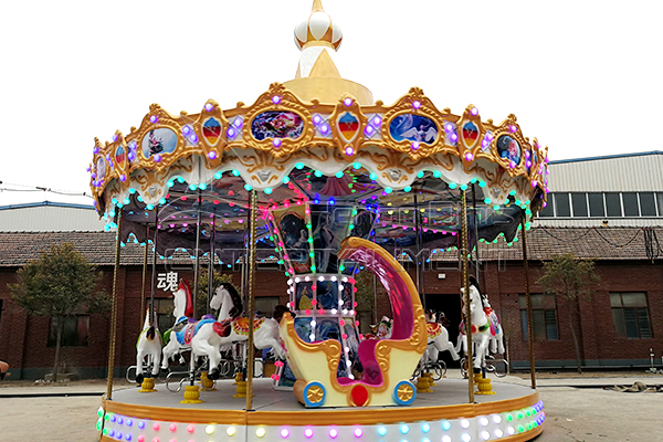 victorian merry-go-round musical carousel for sale
