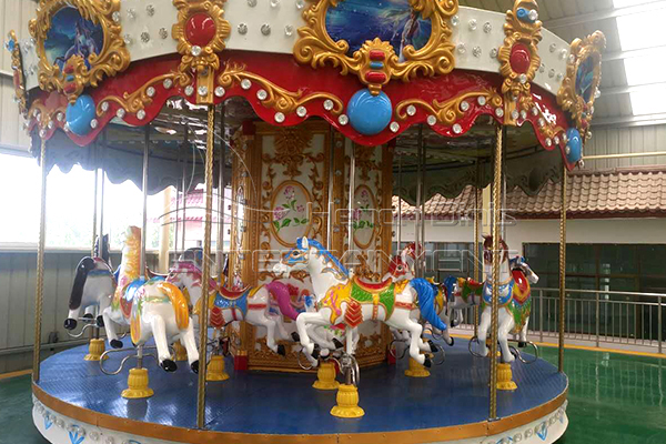 vintage carousel merry go round can be customized in Dinis